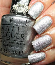 Icy Nails: Happy New Year! OPI The Gown Needs a Crown is My New Year Sparkle. #nailpolish #opi #icynails #beauty #bblogcoalition #bbloggers via @Erika Costello