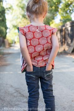 craftiness is not optional: reversible wrap top tutorial and free pattern