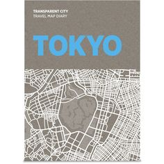 Palomar Transparent City Map Diary - Tokyo ($21) ❤ liked on Polyvore featuring home, home decor, office accessories, books, multi, recycled pencils, recycled pens and map pencils