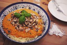 Pasta Rosso (med recept från Mera Vego)
