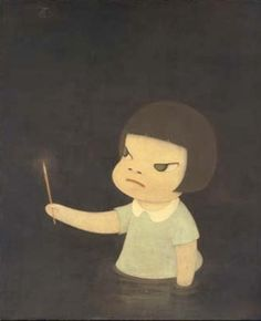 Yoshimoto Nara and his strange little girls | Art & Design | Lifelounge