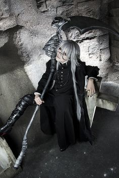 Sakuya Undertaker Cosplay Photo - WorldCosplay
