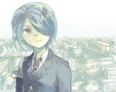 Ichirouta Kazemaru  con el pelo corto