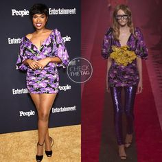 Who: Jennifer Hudson  Wearing: Gucci Spring 2017 RTW Where: Entertainment Weekly x People Magazine party