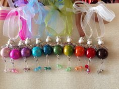 Beautiful bead angels to watch over you and your loved ones for every occasion in the form of a key ring, bag charm, decoration & keepsake. on Etsy, £6.00