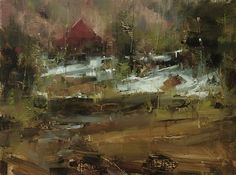 Spring Light by Tibor Nagy Oil ~ 12 x 16