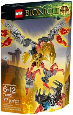 Lego Bionicle Ikir, a tűz szülötte 71303 - LEGO és Fisher Price termékek Building Blocks Toys, Building For Kids, Lego Bionicle, Minecraft Video Games, Power Rangers Dino, Cool Lego Creations, Buy Lego, Lego Projects, Educational Games