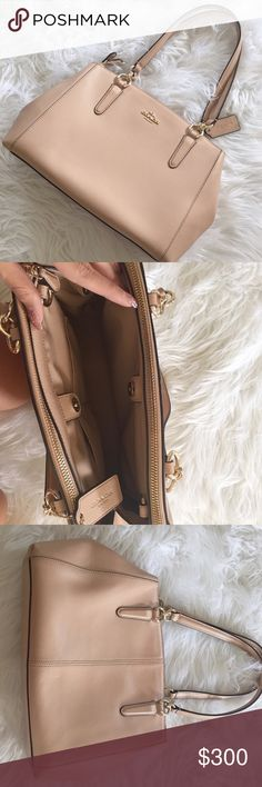 ⚡️FLASH SALE PRICE FIRM⚡️Gorgeous Coach Bag Gorgeous Coach bag in almost brand new condition! A nude/tannish pink color with gold detailing. Absolutely beautiful! Perfect staple bag that goes with anything. No trades! Bundle & save 5%! 100cvkbd Coach Bags Shoulder Bags