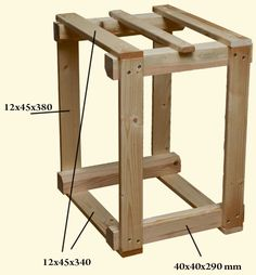 bygg en vedhämtare Firewood Storage, Diy Wood, Desk, Diy Crafts, Furniture, Home Decor, Organization, Firewood, Desktop