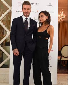 """David and Victoria Beckham - The gorgeous pair celebrated their 17th wedding anniversary over the summer, but they oftentimes still act like newlyweds. """"Yes, love at first sight does exist,"""" the fashion designer once said. """"It will happen to you in the Manchester United players' lounge—although you will get a little drunk, so exact details are hazy."""""""