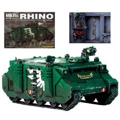 Space Marine Rhino  http://www.comparestoreprices.co.uk/collectables/games-workshop-space-marine-rhino.asp