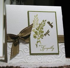 Simple Sympathy by darleenstamps - Cards and Paper Crafts at Splitcoaststampers