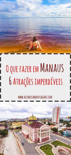 Dicas sobre o que fazer em Manaus e região. Wander, Brazil, World, Places, Movie Posters, Movies, Trips, Collections, Bucket List Travel