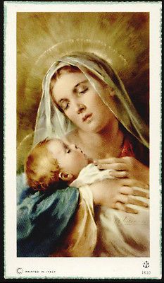Catholic Art, Religious Art, Religious Images, Blessed Mother Mary, Blessed Virgin Mary, Jesus E Maria, Spiritual Paintings, Vintage Holy Cards, Paddy Kelly