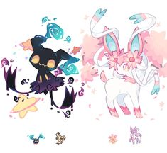 World of Our Fantasy — charamells: Pokemon fusions Pokemon Fusion Art, Pokemon Fan Art, Pokemon Mashup, Pokemon Tattoo, Pokemon Breeds, Pokemon Memes, All Pokemon, Pokemon Cards, Creepy Pokemon