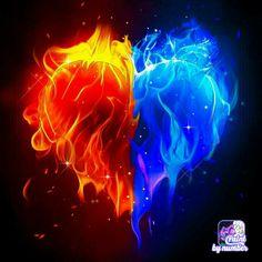 Es un corazón partido en dos que es agua y fuego Blue Roses Wallpaper, Cute Galaxy Wallpaper, Cute Wallpaper For Phone, Landscape Wallpaper, Scenery Wallpaper, Cool Backgrounds Wallpapers, Photo And Video Editor, Images Esthétiques, Cute Animal Drawings Kawaii