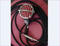 ASTATIC JT-30 Microphone, Mid-1940's, B Series, Vintage, Art Deco, Collectible, Harmonica Microphone by BackStageVintageShop on Etsy