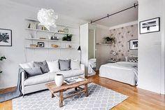 Será mesmo possível viver e se sentir bem em um apartamento de 35 m2 ? Muitos tem esta dúvida, uns acreditam que sim, outros que não. Outros vivem, mal ou bem, porque necessitam ou escolheram devido à comodidade do trabalho próximo.
