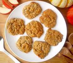 Ultimate. Fall. Cookie = Paleo Apple Cookies (GF, grain-free)| Perchance to Cook, www.perchancetocook.com