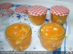 Orangenmarmelade mit  weißer Schokolade, ein schönes Rezept aus der Kategorie Aufstrich. Bewertungen: 2. Durchschnitt: Ø 3,3.