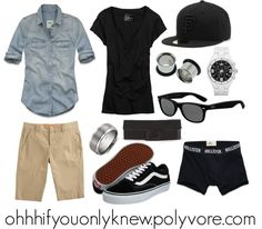 A fashion look from January 2013 featuring Hollister Co. blouses, American Eagle Outfitters t-shirts and Vince shorts. Browse and shop related looks. Lesbian Outfits, Gay Outfit, Tomboy Outfits, Swag Outfits, Cool Outfits, Casual Outfits, Androgynous Girls, Androgynous Fashion, Tomboy Fashion
