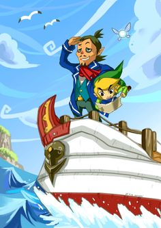 Being someone who grew up with Phantom Hourglass as their first Zelda game it really makes me happy when I see a Phantom Hourglass fanart. I have always been sad that Wind Waker has gotten more credits than Phantom Hourglass. I am currently replying it for my 15- 16th time and it will still be one of my favorite, along with Twilight Princess. I haven't currently played Wind Waker so I can't judge as acutely as I would like. But it has just always been a disappointment to me.