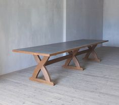 The Sawbuck Table