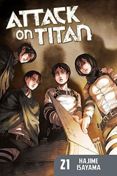 Attack on Titan 21 by Hajime Isayama https://www.amazon.com/dp/1632363275/ref=cm_sw_r_pi_dp_U_x_cztDAbQD0ZGM1