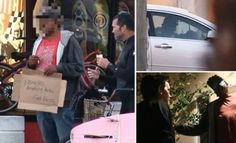 Can you believe it? Fake 'Homeless' Man Exposed With Luxury Car and Home (VIDEO)