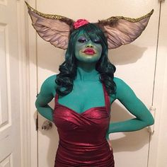 You'll Be So Stoked When You See These 99 Rad Halloween Costumes Inspired by the Pin for Later: 101 Totally Rad Halloween Costumes Inspired by the Greta Gremlin, the Gremlins Best 80s Costumes, Horror Movie Costumes, Creative Costumes, Creative Halloween Costumes, Diy Costumes, Costume Ideas, Horror Halloween Costumes, Cosplay Ideas, Halloween Outfits