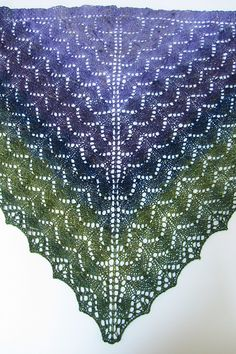Ravelry: Shady Glen Shawl pattern by Denise Bartels