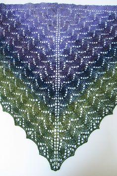 Ravelry: Shady Glen Shawl pattern by Denise Bartels