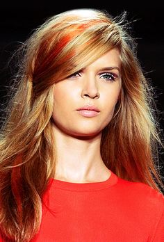 Hair colour trends for SS '13 (according to girlscene.nl).