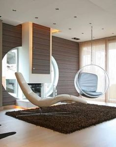 Image result for interior hanging egg chair
