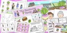 The Enormous Turnip Lesson Plan Ideas and Resource Teaching Pack