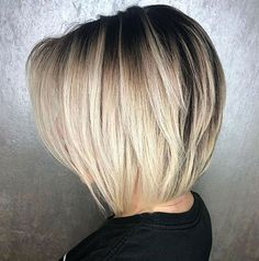 60 Layered Bob Styles: Modern Haircuts with Layers for Any Occasion Blonde Tapered Bob Blonde Tapered Bob-I like how the weight is taken out of the bottom of the hair Blonde Layered Collarbone Bob Layered bob hairstyles with balayage colors are particular Layered Bob Hairstyles, Short Bob Haircuts, Bob Hairstyles 2018, Braided Hairstyles, Longer Bob Hairstyles, Graduated Bob Haircuts, Bob Wedding Hairstyles, Undercut Hairstyle, Men Undercut