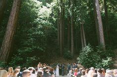 amazing redwoods ceremony space