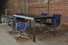 Bevel Table by Vintage Industrial Furniture