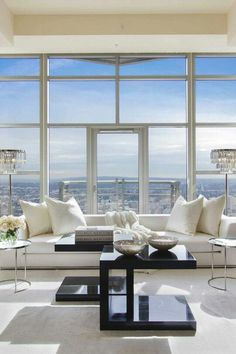 See This Fantastic Penthouse Decorated By Luxury Brands #luxurypenthouse  #interiordesign #contemporaryhotels #modernfurniture