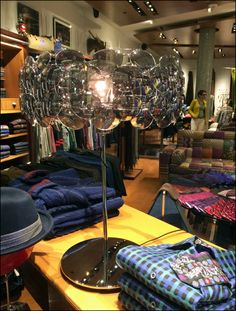 Robert Graham Sunglass Lamp as Display