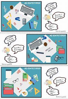 ¿QUÉ HAY EN TU ESCRITORIO? | Profe-de-español.de