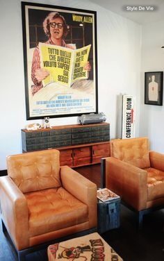 Beyond the Dorm Room: Decorate Your Home With Movie Posters.