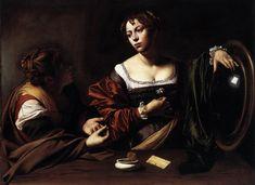 Caravaggio - Martha and Mary Magdalene [ more art: http://makeyourideasart.com ]