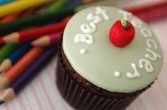 Best Teacher Cupcake