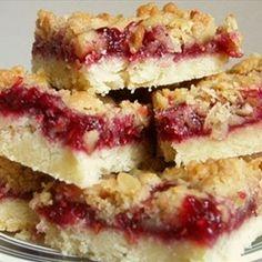 Lemon Raspberry Bars | Organic Recipe Book