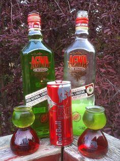 Agwa-N-Red Bull!   I can hear colors!!!