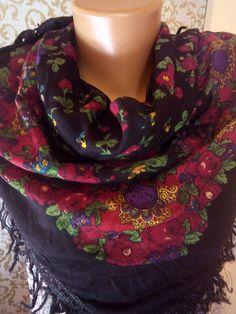 Gypsy skirt Flower Russian gypsy swal Folk by myfatherlovlyboxx