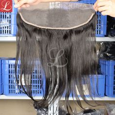 Latest Hair Extensions Silk Straight Virgin Remy Human Hair Lace Frontal Closure http://www.latesthair.com/