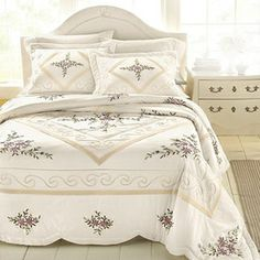 Marianna Quilted Bedspread @ JCP I have this in KING size for our ... : sears quilted bedspreads - Adamdwight.com
