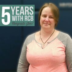 Happy Five Year Workiversary to our Prepress Specialist, Jen! We wish you many more with R.C. Brayshaw!